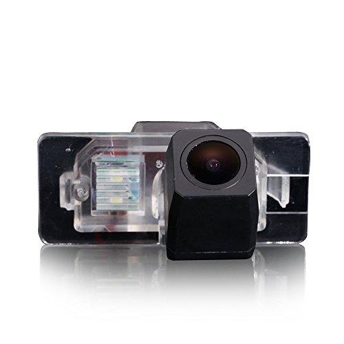 greatek Caméra de recul étanche Vision nocturne vue arrière Caméra aide au stationnement système de recul voiture Noir Pour Series 1 E82 3 Series E46 E90 E91 5 Series E39 E53 X3 X5 X6