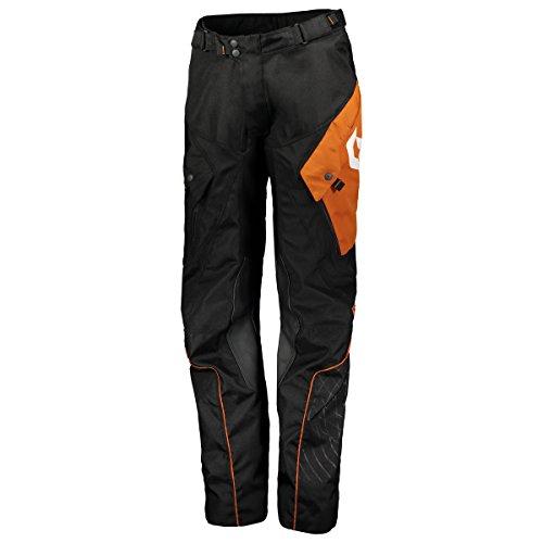 Scott 350 ADV Motorrad Hose schwarz/orange 2019: Größe: L (34)