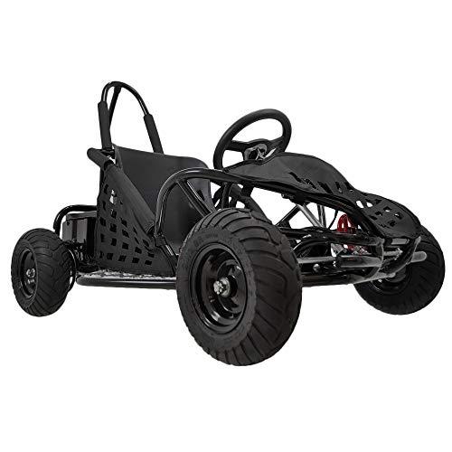 New Baja 1000W 48V Electric Kids Go-Kart (Black)