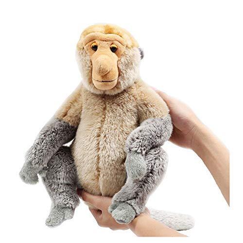 feilongzaitian Plush 1Ps Monkey Proboscis Monkey Stuffed Animals Plush Proboscis Monkey Random Delivery