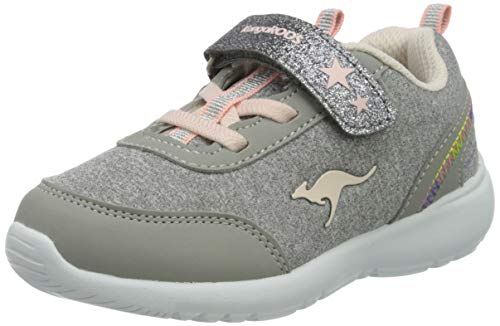 KangaROOS KC-Citylite EV Unisex Baby Sneaker, Grau (Vapor Grey/Frost Pink 2063), 23 EU