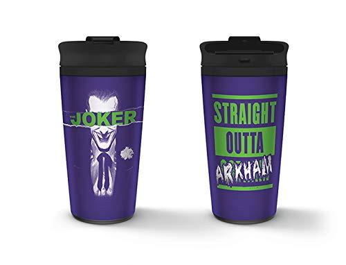 DC Comics MTM25370 - Taza de viaje (450 ml) - Le Joker
