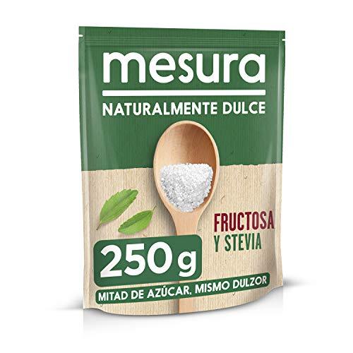 Mesura Edulcorante, Fructosa y Stevia, 250g
