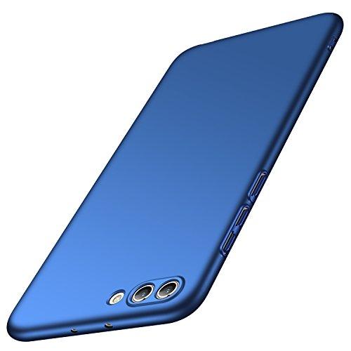 Huawei Honor View 10 Hülle, Huawei Honor V10 Hülle, Anccer [Serie Matte] Elastische Schockabsorption & Ultra Thin Design (Glattes Blau)