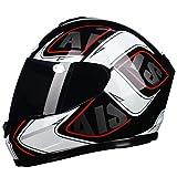 Casco moto integrale DOT approvato Casco moto retrò Casco moto integrale Casco moto Migliori caschi moto