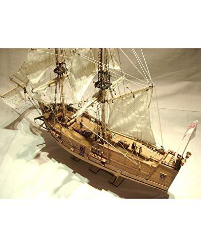 Golden Star Scale 1/100 Wooden Model Ship Kit