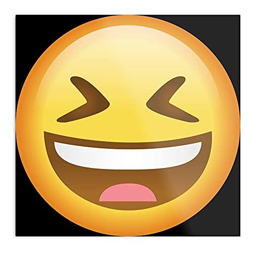 Cartel de pared con diseño de emoticonos y ojos de Emoji