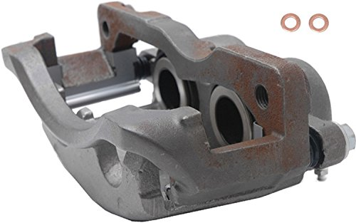 ACDelco 18FR1381 Professional Front Driver Side Disc Brake Caliper Assembly without Pads (Friction Ready Non-Coated), Remanufactured