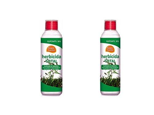 Flower Lote de dos Herbicidas Total 500cc huerta