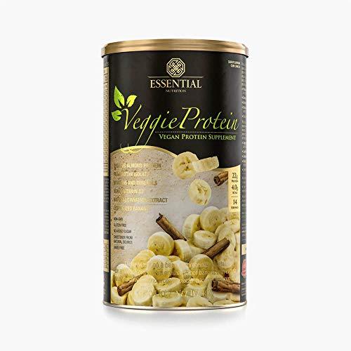 Veggie Protein Banana com Canela, Essential Nutrition, 462G