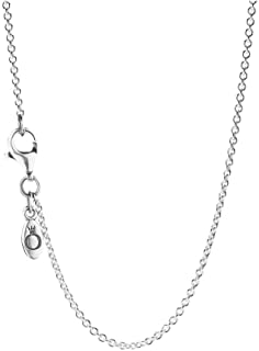 Pandora Pearl Silver Chain Necklace of Length 45cm 590412-45