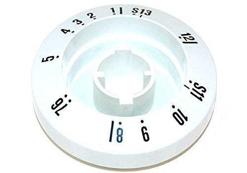 Smeg 762770324 Smeg Washing Machine Timer Disc. Genuine part number 762770324,