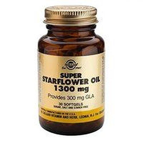 Aceite de Borraja 1300 60 cápsulas blandas de Solgar