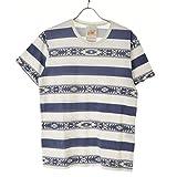 (ティーエムティー) TMT 15SS S/S ラフィー天竺TEE (NATIVE BORDER) 半袖Tシャツ