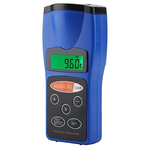 Telémetro ultrasónico Cp3008 18 metros, CP-3008 Medidor de distancia ultrasónico digital Medidor de distancia portátil