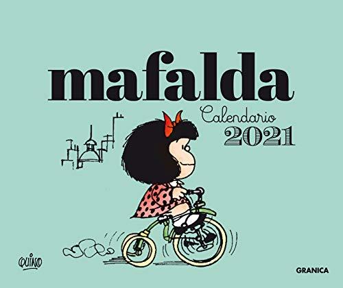 GRANICA Calendario 2021 Mafalda Escritorio-Verde (sin caja)