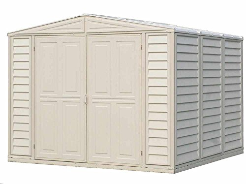 Metal Structured DuraMate Shed (8 ft. L x 8 ft. W)