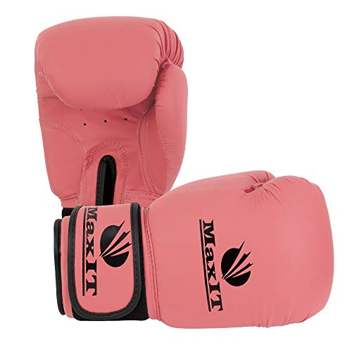 MaxIT Boxing Gloves, Perfect for Sparring, MMA, Kickboxing, Heavy Bag, Muay Thai | Comfortable & Easy to Clean