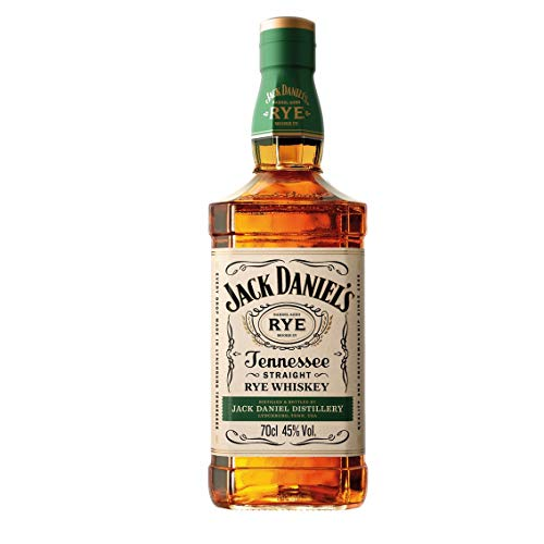 Jack Daniel's Tennessee Rye Whiskey, 45% Volume (1 x 0.7 l)