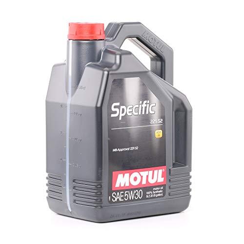 Motul - 104845 : Aceite lubricante especifico Specific 229.52 5w30 5l