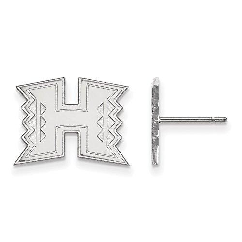 Logo Art Hawaii klein (1/5,1cm) Post Ohrringe (Sterling Remasuri)
