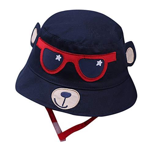 Bonnet de Naissance Beanie Cartoon Chapeau en Coton Casquette Lettre Imprim/é pour 2-10 Mois B/éb/é Fille Gar/çon