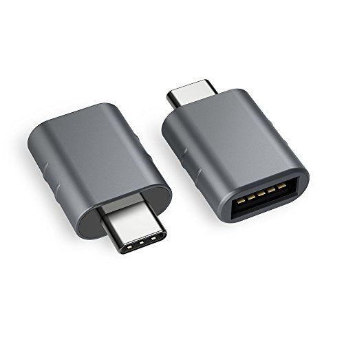 Syntech USB C Adapter auf USB 3.0[2 Stücke] OTG USB Typ C Adapter,Th&erbolt 3 to USB 3.1,Kompatibel mit iPad Pro 2020, Huawei Mate 20, MacBook Pro 2019/Air 2020,Samsung Galaxy,Surface Go