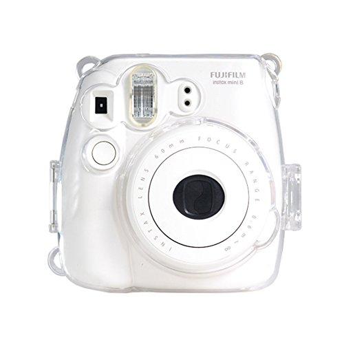 Colorful Kunststoff schützen Fall für Fujifilm Instax Mini 8Polaroid Kamera Klar von IDS