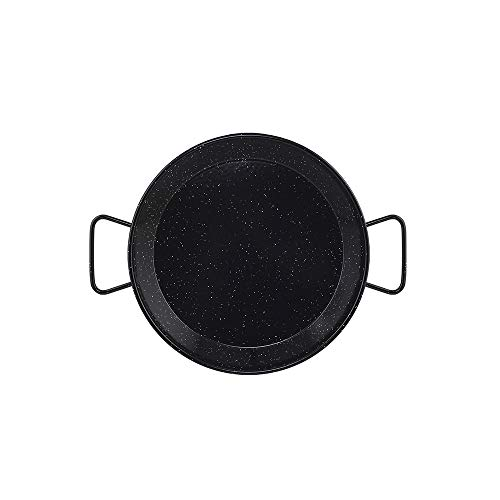 Metaltex - Paellera Acero Esmaltado 3 Raciones 28 cm