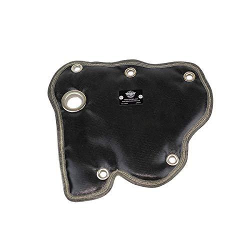 PTP 2012-2014 Fiat 500 Turbo/Abarth Turbo Blanket/Heat Shield - Black