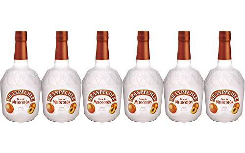 Granpecher - Licor de Melocotón - 6 botellas de 700