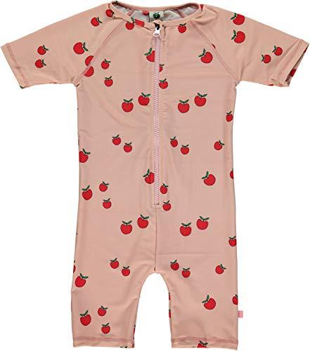Smafolk UV Schutz Badeanzug Shorty Allover Apfel Print Gr. 104-110