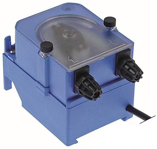 MICRODOS MP3-B Dosiergerät für Spülmaschine für Klarspüler 1l/h Silikon ohne Steuerung 230VAC Klarspüler Schlauch