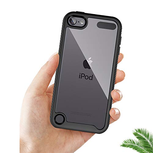 iPod Touch 7th Generation caseiPod Touch case丨Armor Shockproof Case with Build in Screen ProtectorHeavy Duty Shock ResistantHybrid Rugged Cover for iPod 7th GenerationSpaceGray
