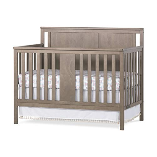 Forever Eclectic Quincy 4-in-1 Convertible Crib, Dusty Heather Brown