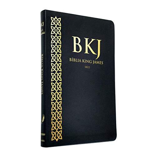 Bíblia King James - Ultrafina Preta com Pilcrow