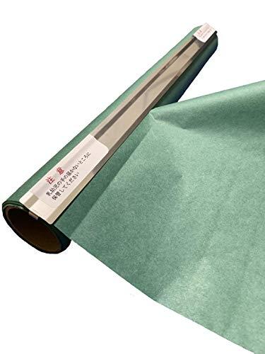グリーンパーチロール カッター付き 熟成紙 魚を包む緑の紙 耐湿紙 グリーンパーチペーパー 吸水紙 津本式 耐水紙 (20m)