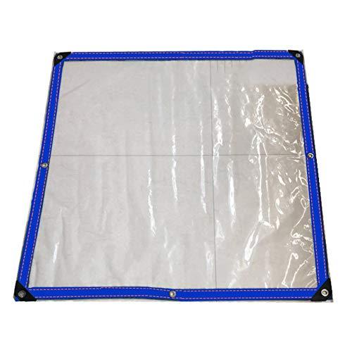 SSRS Hoja de Lona Aislamiento térmico Impermeable Membrana de plástico del Techo de la Cubierta for Aves Usado, 0,12 mm de Espesor, Transparente portátil, Duradero (Size : 3X4M)