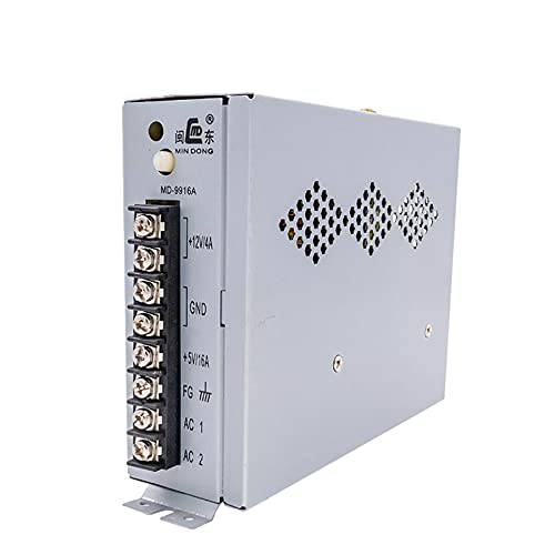 GOZAR Md-99 16A Alimentazione di Commutazione per Arcade Jamming Pinball Uscita 5V/16A 12V/4A