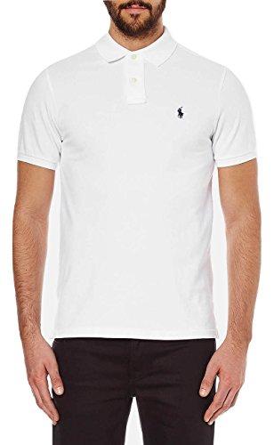 Ralph Lauren Polo Personalizado para Hombre XL Blanco