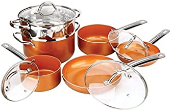 Best copper luxury cookware pan Reviews