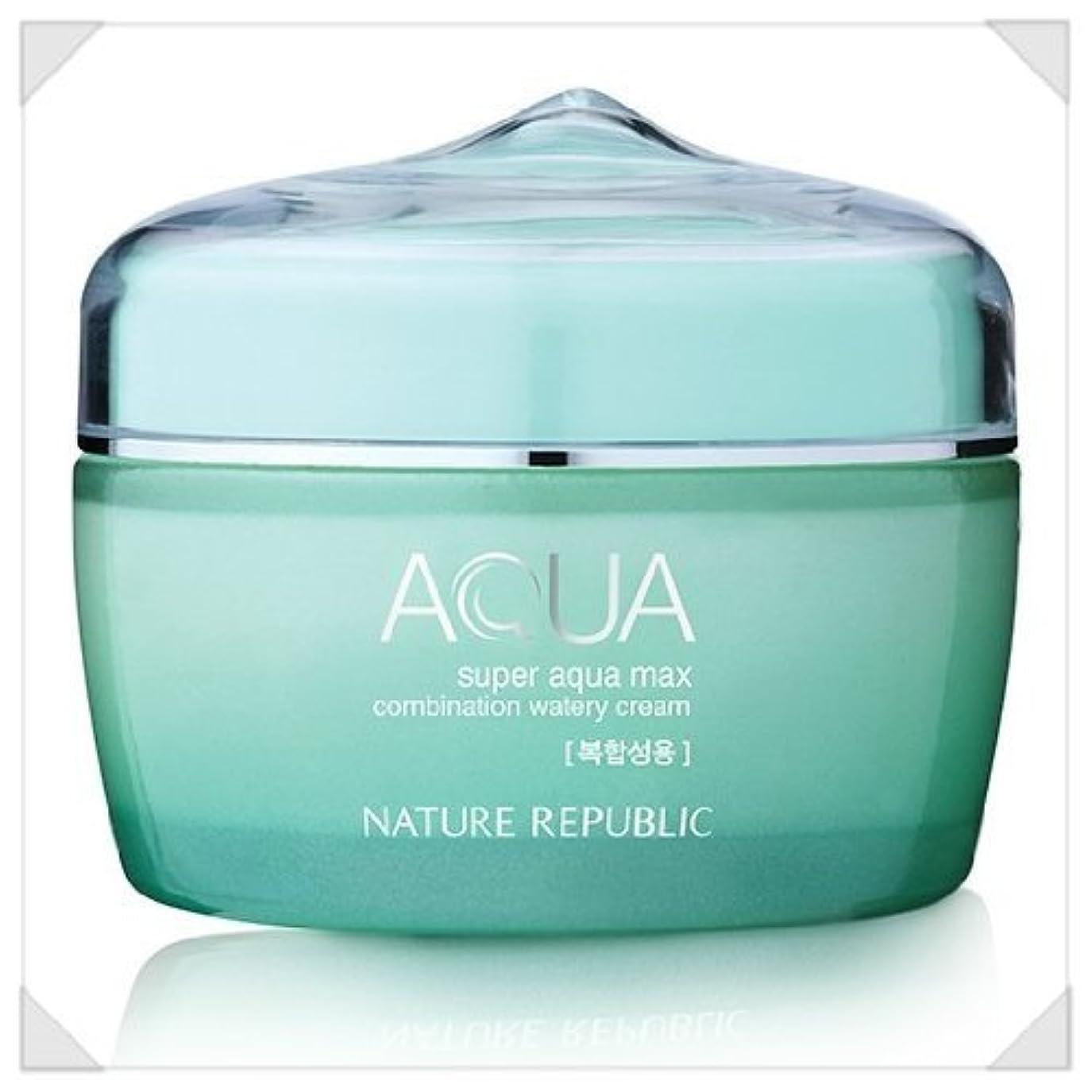 株式会社ほのかジョイントNature Republic Super Aqua Max Combination Watery Cream_80ml_for combination skin type