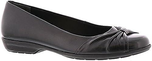 Walking Cradles Frauen Leder Leder Leder Loafers SchwarzGroesse 10 US  41.5 EU  klassische Mode