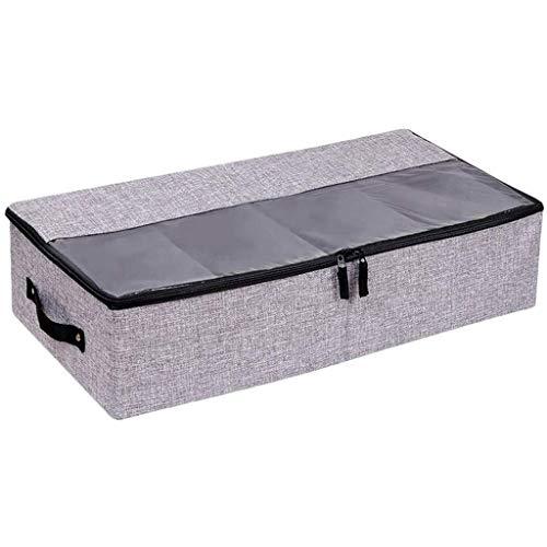ZYING Caja de Almacenamiento - algodón y Lino Plegable Caja de almacenaje del Engrosamiento Tela Caja a Prueba de Polvo Caja de Almacenamiento
