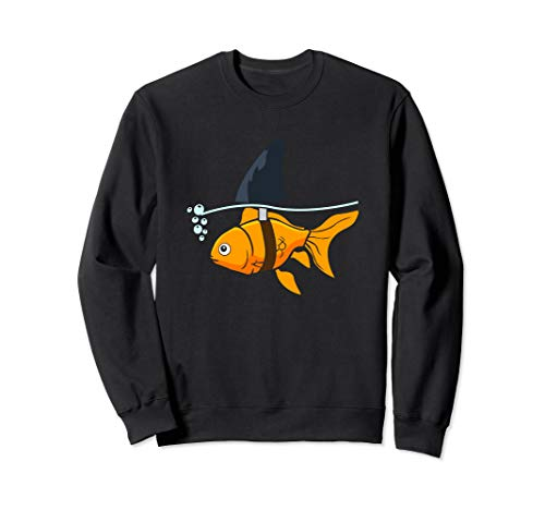 Fisch, Wasser, Meer, Angler, Hai, Boot, Aquarium, Goldfisch Sweatshirt