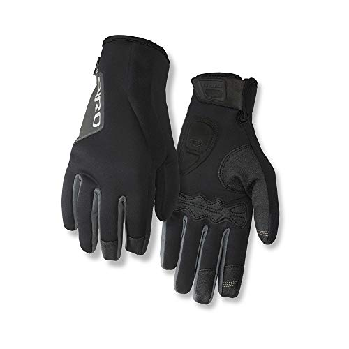 Giro Ambient 2.0 Adult Unisex Winter Cycling Gloves - Black (2020), Small