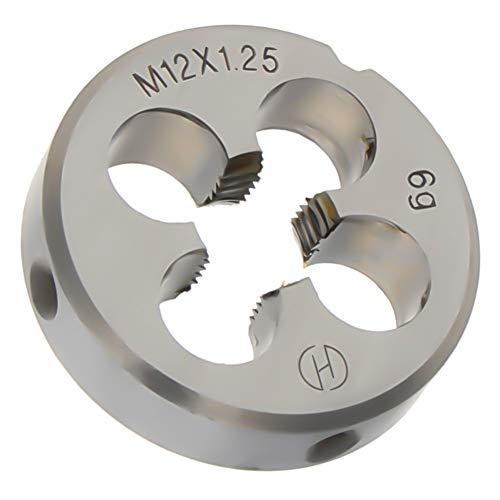 Utoolmart Round Die Machine Thread Right Hand Threading Die M12 x 1.25 Alloy Steel Tool 1pcs