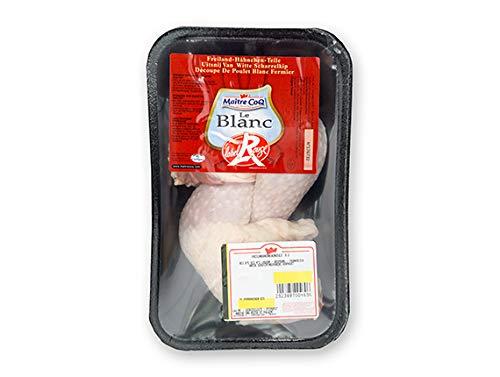 Kreutzers | Freiland-Hähnchenschenkel Hähnchenkeulen Frisches Hähnchenfleisch von bester Qualität 2 x ca. 180g