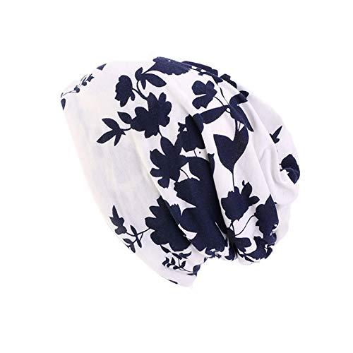 Amorar Kopftuch Hijab Bandana Damen Baumwollmütze Kopfbedeckungen Chemo Hut Weich Slouchy Beanie Turban Kopf Wraps Headwear Skull Cap für Krebs, Chemo, Haarausfall, Chemotherapie