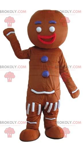 REDBROKOLY Mascot Ti famous gingerbread cookie in Shrek
